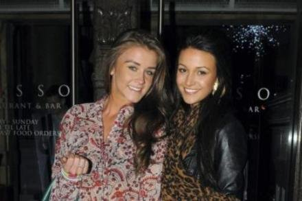 Brooke Vincent and Michelle Keegan