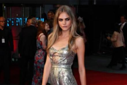 Cara talks in the video about her style