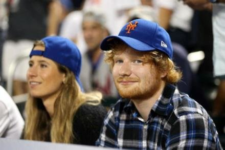 Cherry Seaborn and Ed Sheeran
