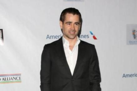 Colin Farrell at the Oscar Wilde party