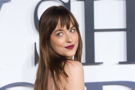 Dakota Johnson at the Fifty Shades of Grey UK premiere