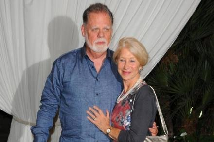 Dame Helen Mirren and Taylor Hackford