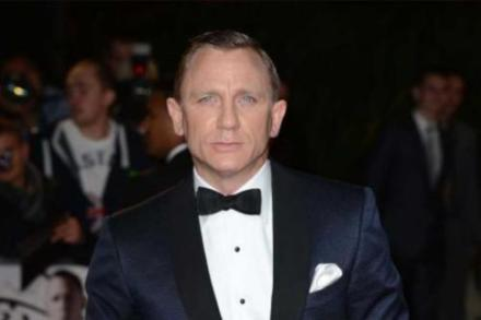 Daniel Craig at the Skyfall World Premiere at London's Royal Albert Hall