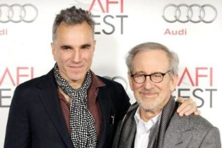 Daniel Day-Lewis and Steven Spielberg