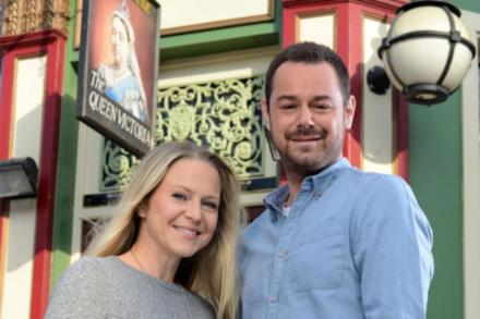 Kellie Bright and Danny Dyer