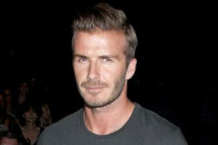 David Beckham is modelling for yet another company