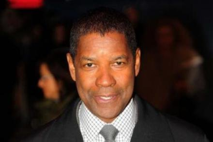 Denzel Washington at the UK Flight premiere