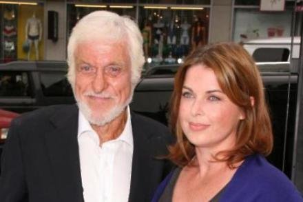 Dick Van Dyke with his wife Arlene
