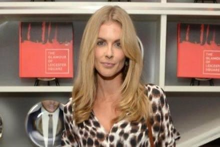 Donna Air at the launch of 'The Glamour of Leicester Square' photographic book and exhibition at W London - Leicester Square.