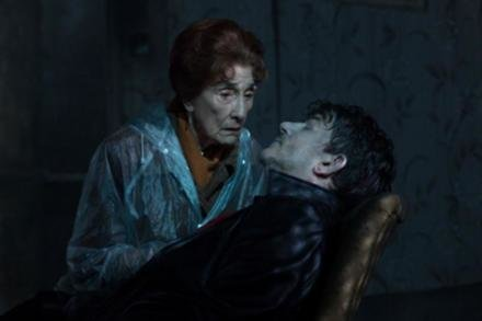 June Brown as Dot Branning with her on-screen son Nick