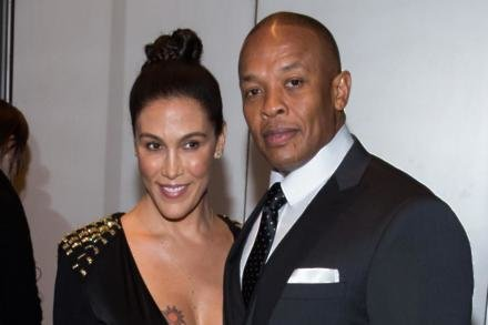 Dr. Dre and wife Nicole Threatt
