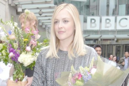 Fearne Cotton leaves the BBC studios after her final show