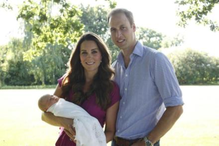Prince William, Duchess Catherine and Prince George