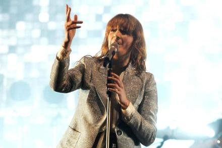 Florence + The Machine singer Florence Welch