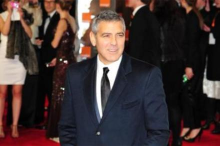 George Clooney at the BAFTAs