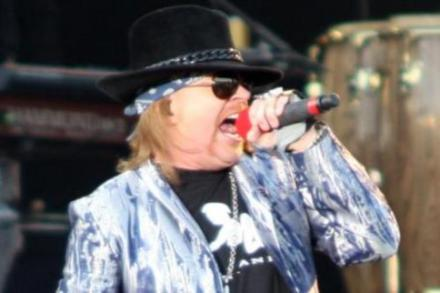 Axl Rose on Male Xtra