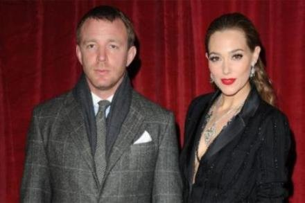 Guy Ritchie with fiance Jacqui Ainsley