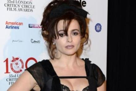 Helena Bonham Carter at the London Critics' Circle Film Awards
