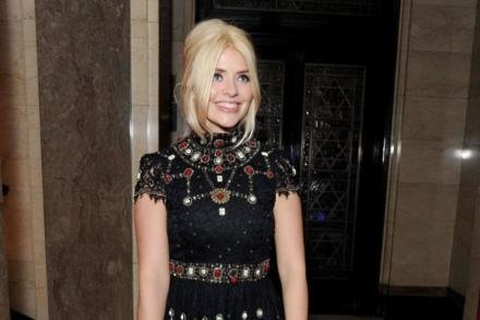 Holly Willoughby at Warner Music Group party