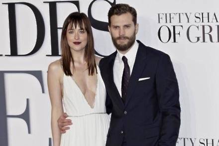 50 Shades stars Dakota Johnson and Jamie Dornan