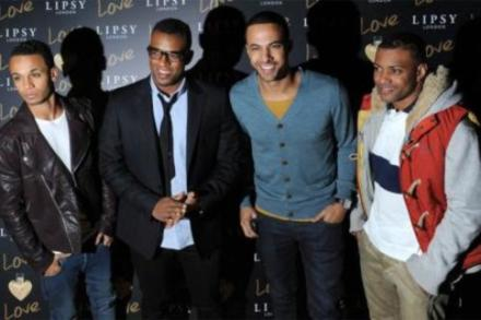 JLS at the Lipsy London Love Launch party