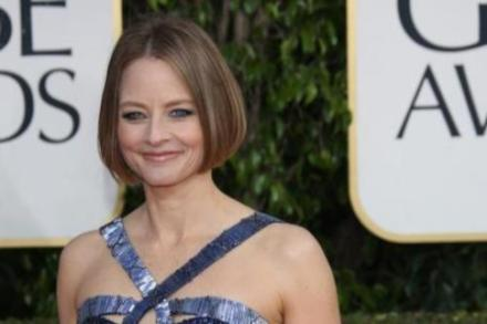 Jodie Foster at the Golden Globe Awards