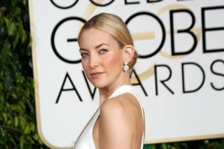 Kate Hudson on the Golden Globes red carpet
