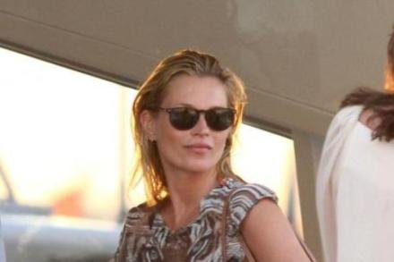 Kate Moss in Saint Tropez