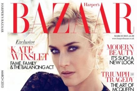 Kate Winslet - photographer Alexi Lubomirski, Pictures as courtesy of Harper's Bazaar UK
