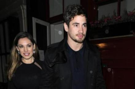 Kelly Brook and Danny Cipriani at the weekend