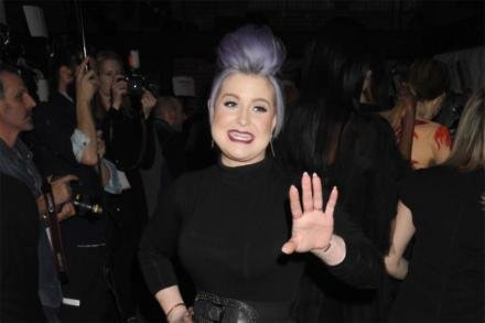 Kelly Osbourne at the Christian Siriano NYFW show