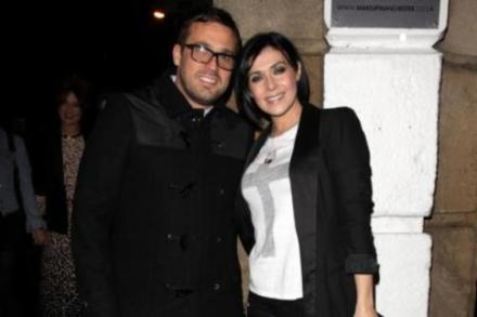 Jamie Lomas and Kym Marsh