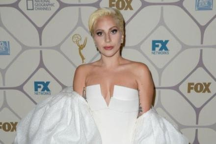 Lady Gaga at the Fox Emmy Awards after-party