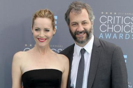 Leslie Mann and Judd Apatow at Critics' Choice Awards