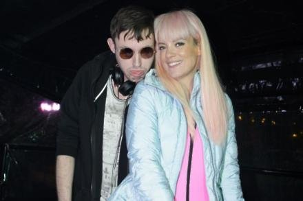 Lily Allen and Hudson Mohawke at Bestival