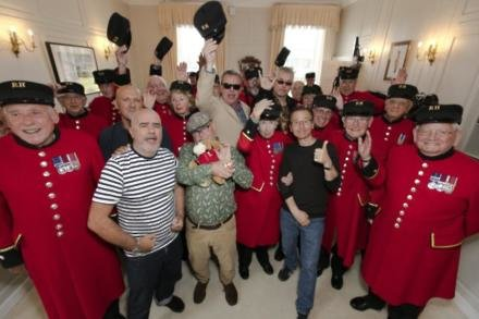 Madness with the Chelsea Pensioners