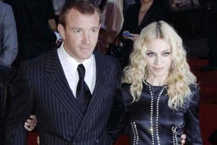 Madonna and Guy Richie
