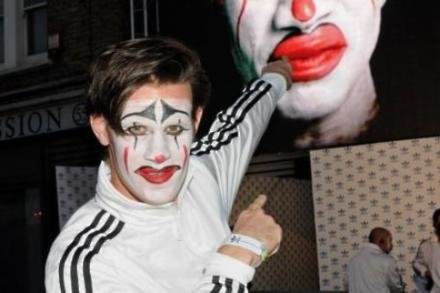 Matt Smith at adidas Underground event