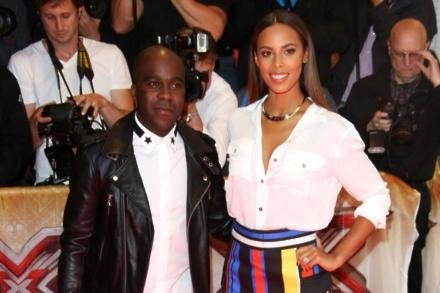 Xtra Factor hosts Melvin Odoom and Rochelle Humes