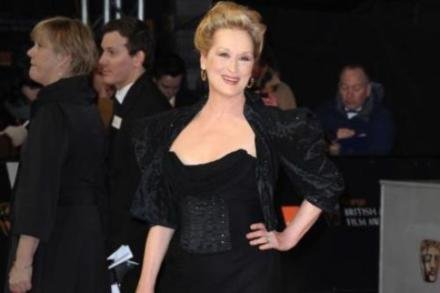 Meryl Streep at the BAFTAs