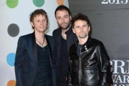 Muse at the BRIT Awards