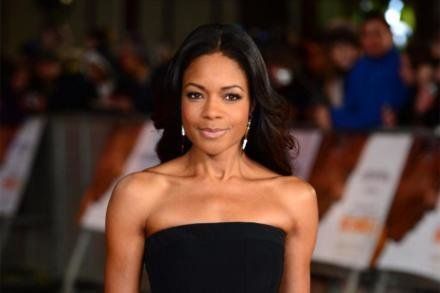 Naomie Harris at Mandela premiere