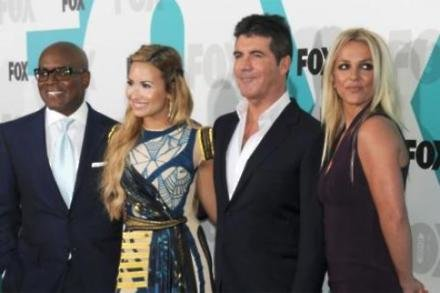 New X Factor panel Britney, Demi, L.A. and Simon
