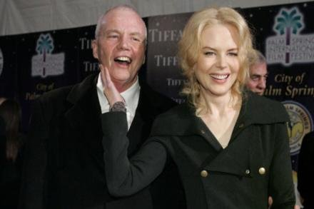 Nicole Kidman and her father Anthony