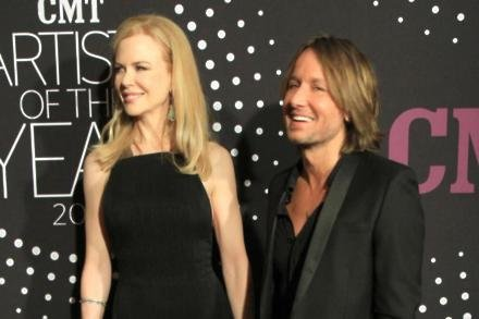 Nicole Kidman and Keith Urban at the CMT Artist of the Year event