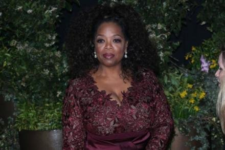 Oprah Winfrey at the BAFTA Awards