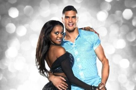 Oti Mabuse and Anthony Ogogo