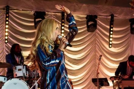 Paloma Faith performs for at The Savoy
