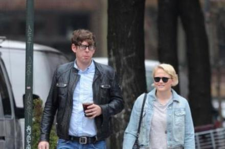 Patrick Carney and his wife Emily Ward