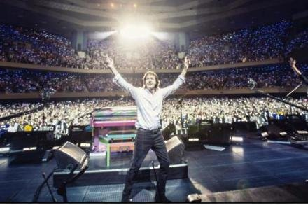 Paul McCartney at the Nippon Budokan